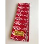 小千谷半巾帯小袋、紅色菱形(NO.1905)