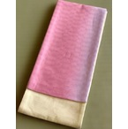 竺仙麻綿市松ぼかし半巾帯-ピンク色 (NO.1912)