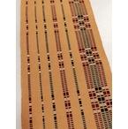 首里花織半巾帯-黄色縞柄 (NO.1876)